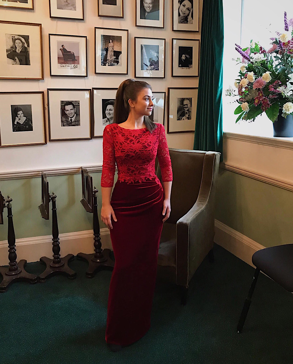 Post Concert in the Wigmore Hall Green Room