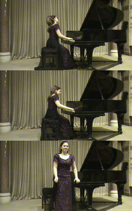 Lara gives a recital for the Egham and District Music Society