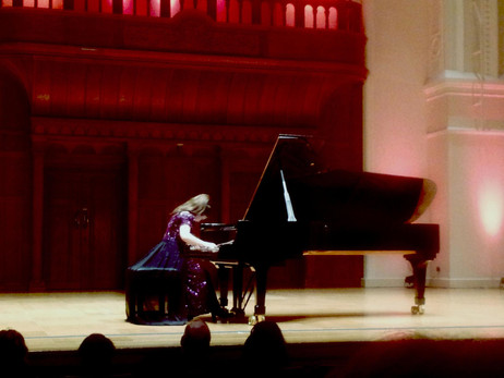 During her concert at Cadogan Hall