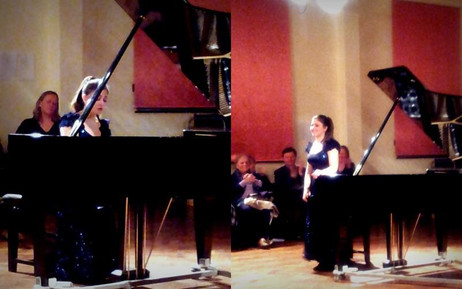 Lara gives recital for the Sutton Valence Music Society