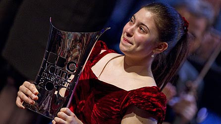 Lara wins the BBC Young Musician of the Year 2010