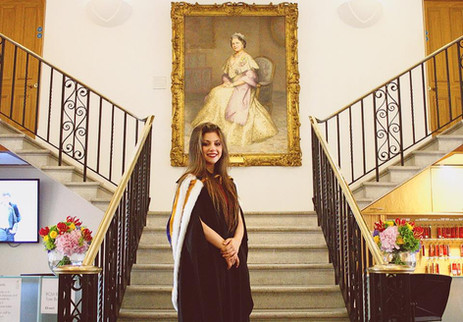 Lara Graduates from the Royal College of Music with First-Class Honours