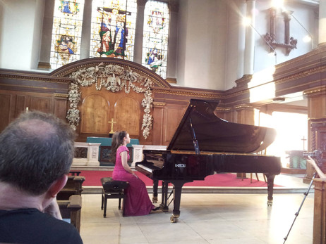 Lara gives recital in aid of Street Child World Cup at St James' Piccadilly