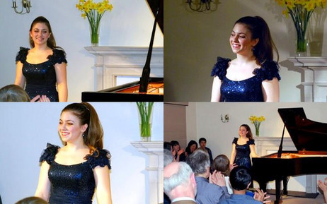 Lara gives recital as part of the Soirees at Breinton Series