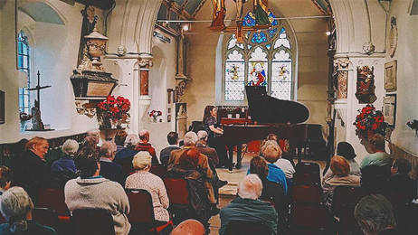 An Intimate Recital for the Audience at St Mary's, Perivale