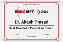 India's Best Doctor Ranchi Dentist