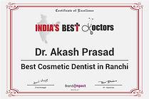 India's Best Doctor Ranchi Dentist