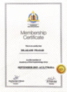 Smiles Central Certificate