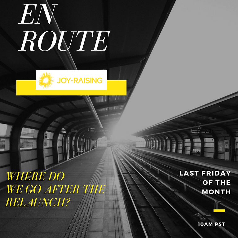 En Route: Where We Go After the Relaunch