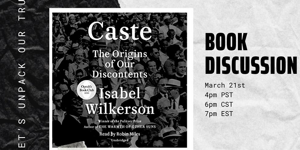Caste Book Discussion