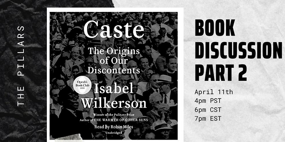 Caste Book Discussion- Part 2