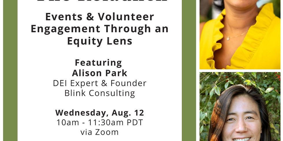 The Relaunch Session #3: Events and Volunteer Engagement Through an Equity Lens