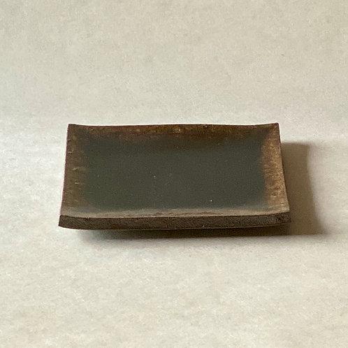 飴釉銘々皿