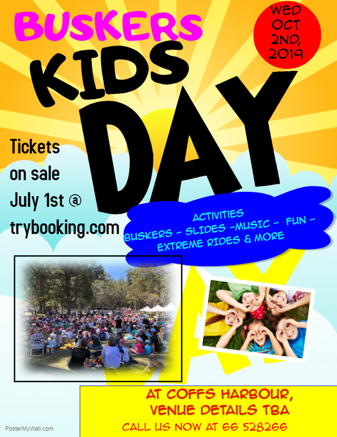Kids Fun Day Flyer Template - Made with