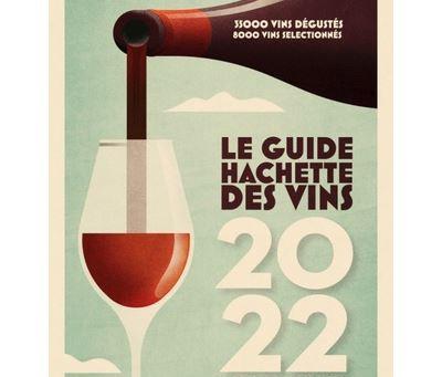 """Sélection de la cuvée """"Le Secret"""" au guide hachette 2022"""