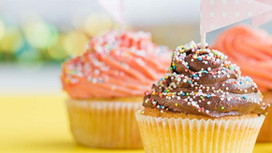 Cupcake with Icing