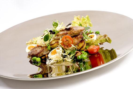 Mediterranean Sausage Salad
