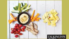 Choose Nutritious Calories - Crisps Vs Houmous, Veg and Pitta