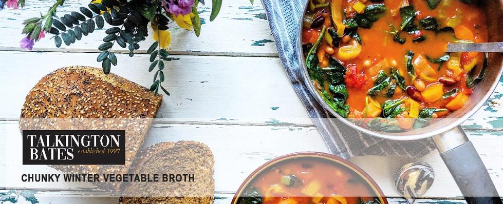 Chunky Winter Vegetable Broth