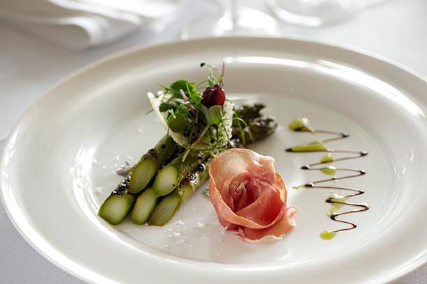 Ham & Asparagus
