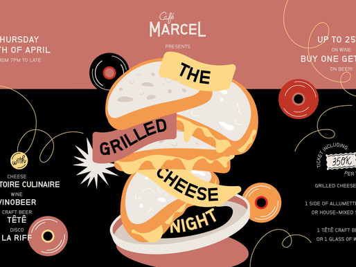 The Grilled Cheese Night!