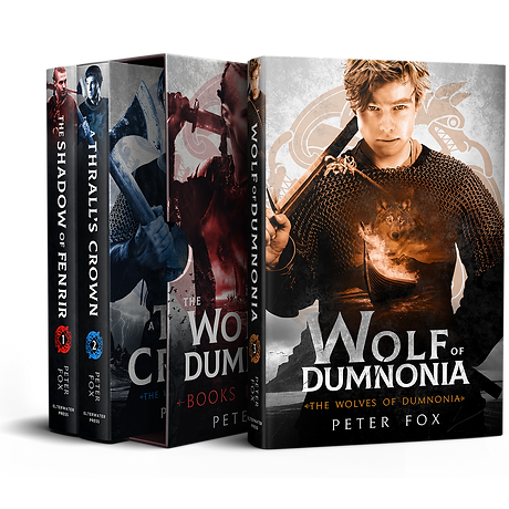 Wolves of Dumnonia Boxset - ALRIK no bg