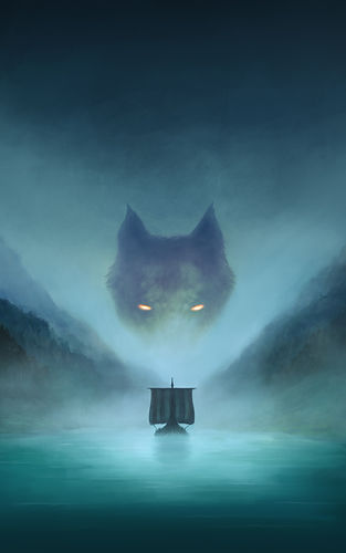 Shadow of Fenrir Ebook Cover Artwork Onl