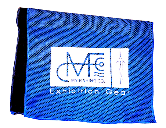 MFC Logo Cooling Towel - Blue
