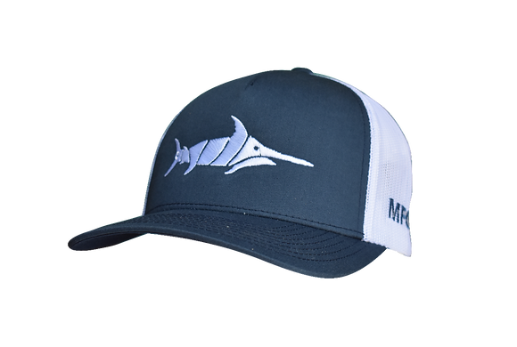 Billfish - Navy/White