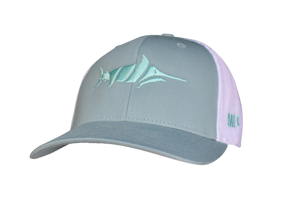 Billfish - Teal/White