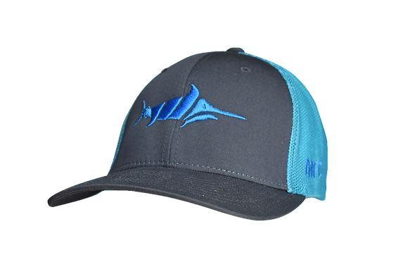 Billfish - Grey/Neon Blue