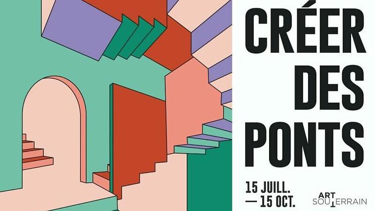 Créer Des Ponts -On going until September 30th, 2021