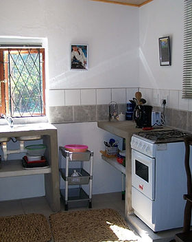 Flat 2 Kitchen self catering accommodati