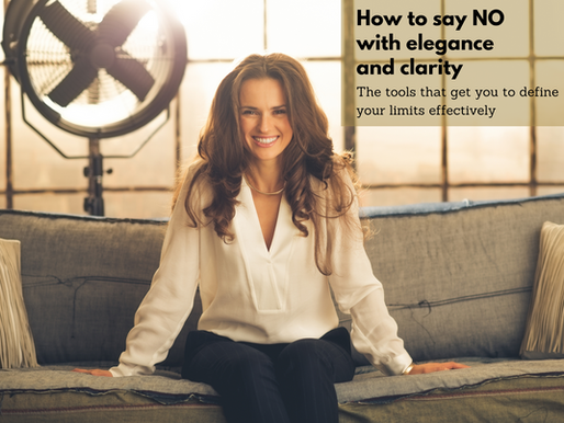 How To Say NO With Elegance And Clarity