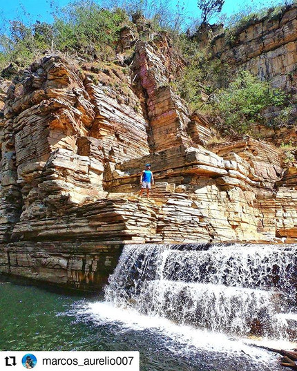 Cachoeira Cascata 🏞️ O nome #Cascata fo