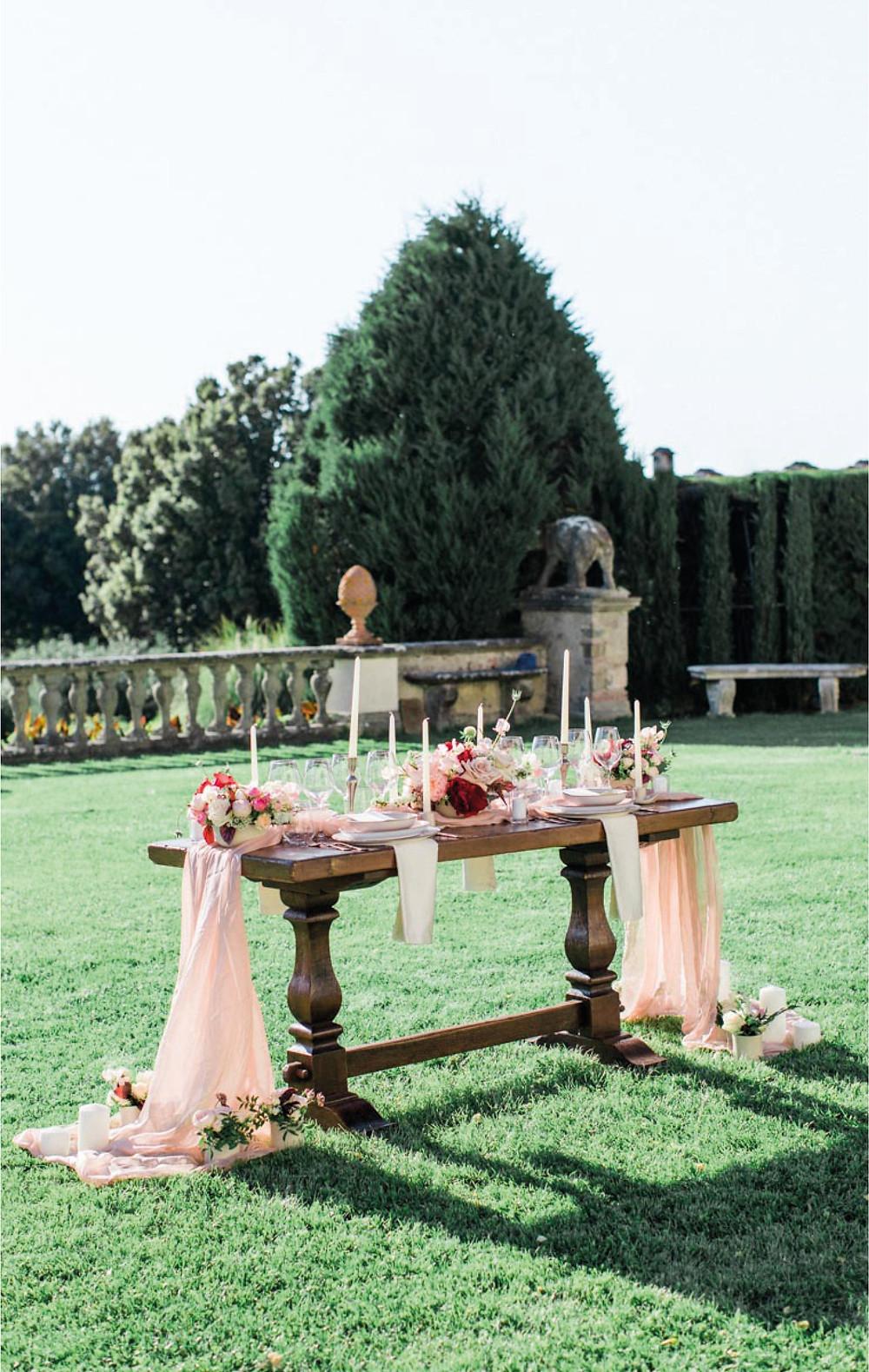 ispirazione per matrimonio in toscana, abito da sposa fatto a mano a Firenze