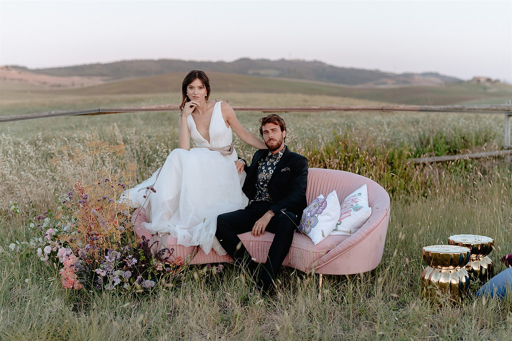 abito da sposa esclusivo, fatto a mano da Andreia Cruz