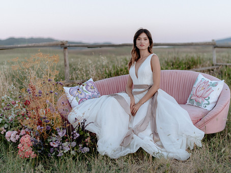 Wildflower Intimate Wedding Inspiration in Tuscany
