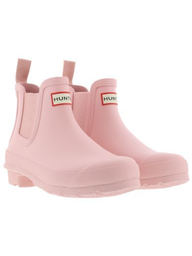 pink chelsea hunter boots