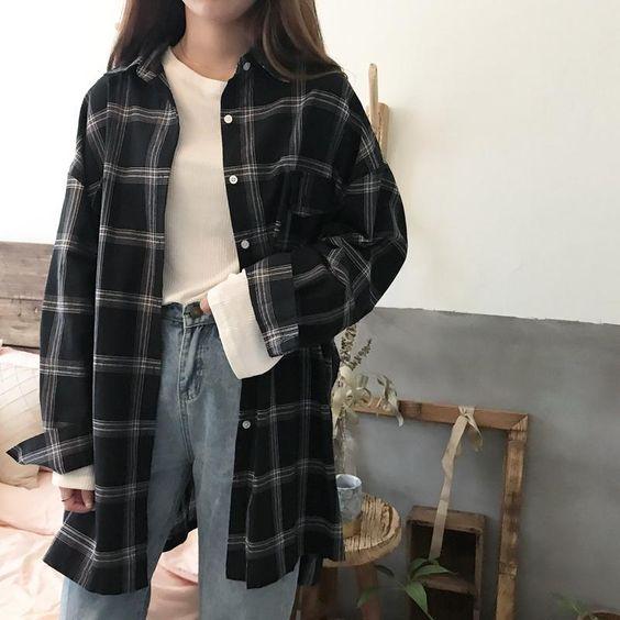 flannel dark