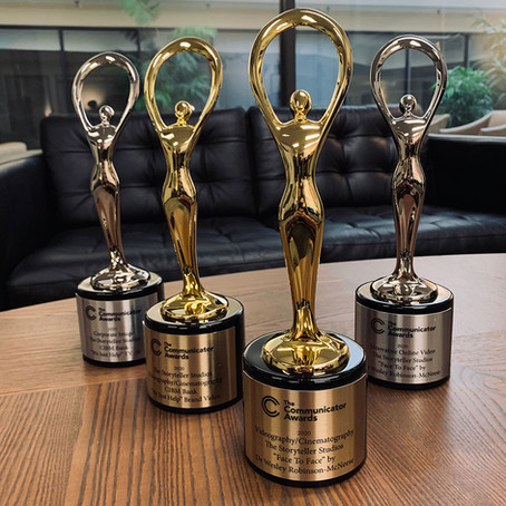 The Storyteller Studios wins four 2020 Communicator Awards