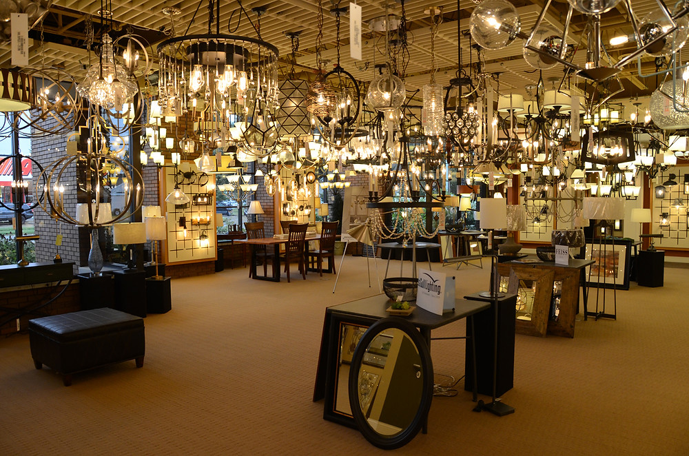 Springfield Electric Lighting & Design Showroom Springfield Illinois