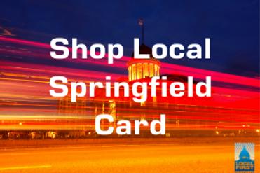 Shop Local Springfield Card Springfield