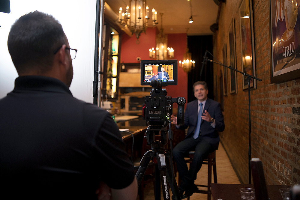 Josh Hester of The Storyteller Studios, a Local First Springfield Member conducts an interview