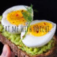 Avocado Toast n Eggs So FnGood with Hotc