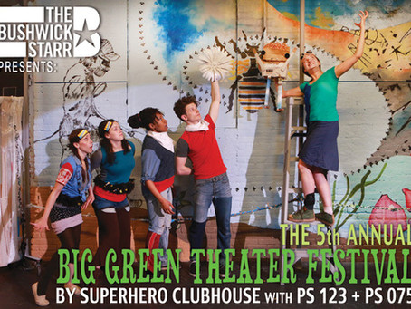 Join me for Big Green Theater!