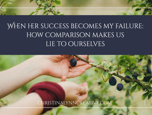 When her success becomes my failure: how comparison makes us lie to ourselves