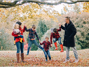 The Beasley Clan // Autumn Family Portraits