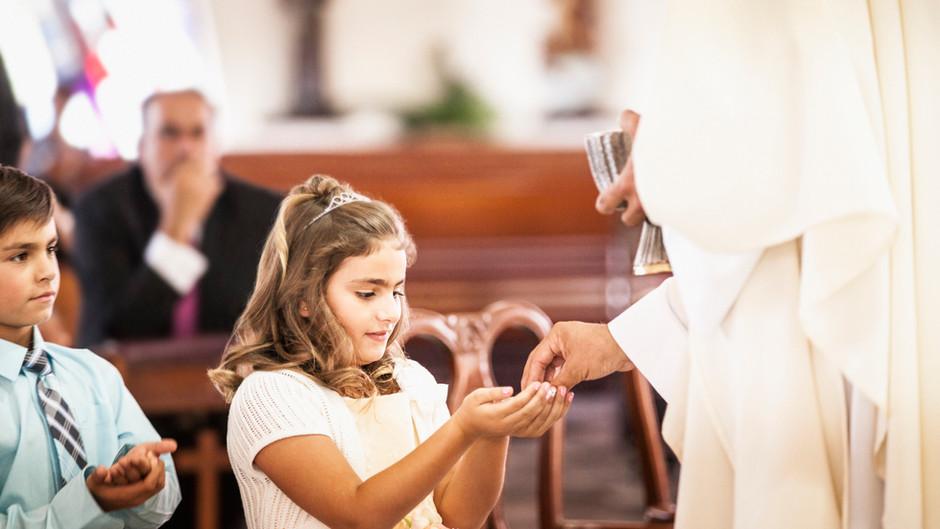 Otázky na prvé sväté prijímanie