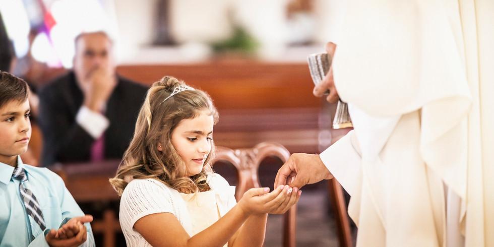 First Communion Mass Sign Up